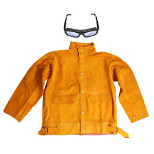 AUTO SOLAR DARKENING WELDING GLASSES GOGGLES AND WELDING JACKET COWHIDE
