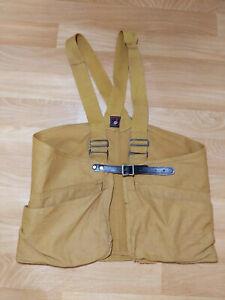 Red Head Hunting Men's Canvas Vest Redhead Vest Strap Suspenders Vintage 30s 40s