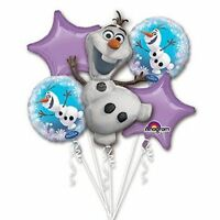 Disney Frozen Olaf Birthday Party Favor Supplies Balloon Bouquet