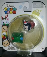 Tsum Tsum Mickey Mouse Disney New Holiday Christmas Ornament Stackable Pack 2016