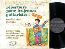 HARMONIA MUNDI Purcell Handel BARTOLI Songs for Young Guitarists SHRINK HM-347
