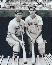"Ted Williams & Jimmie Foxx - 8"" x 10"" Photo - 1939 - Fenway Park"