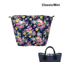 New Waterproof Canvas Insert Zipper Pocket for Classic Obag Mini for O Bag