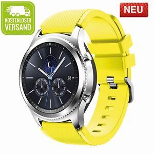 Samsung Galaxy Watch 46mm Gear S3 Frontier Classic Silikon Armband Uhr 22mm