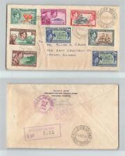 Nice Cover - Pitcairn Islands to Chicago, Ill. 1940 Registered