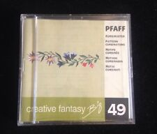 Pfaff Embroidery Designs Card #49 Pattern Combinations  for 7570 2140 2160 2170