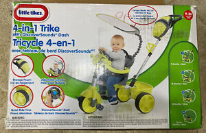 Little Tikes 4 in 1 Basic Edition Baby Toddler Trike Tricycle DiscoverSounds NEW