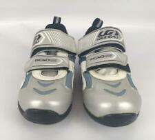 Louis Garneau Ergo Grip US 5.5 EUR 37 Cycling Shoes Blue Silver