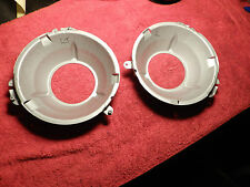 CLEAN/detailed  HEADLIGHT CUP SET of 2, 1970-72-73-74 cuda/barracuda