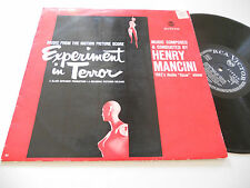 EXPERIMENT IN TERROR NM- German Import Henry Mancini RCA Victor LSP-2442 album