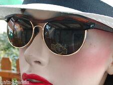 Gafas de sol en marrón retro vintage años 80 Gafas de sol gafas de mujer unisex