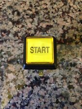 "Small Illuminated Square Arcade Button ""START"""