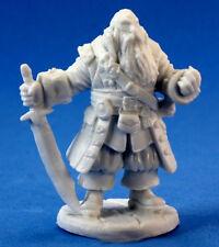1 x BARNABUS CAPITAINE PIRATE - BONES REAPER miniature jdr rpg captain 77132