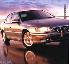 Big 1997 CADILLAC CATERA Brochure / Catalog with Color Chart