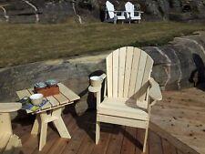 Adirondack Arm Chair Plans - Full Size Patterns