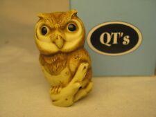 Harmony Ball Qt'S Wide-Eyed Owl On Branch Qt Figurine Qtow -