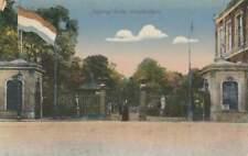 Ansichtkaart Nederland : Amsterdam - Ingang Artis (bd037)