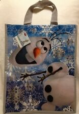 Frozen Olaf Shopping Tote Gift Bag Snowman Disney Store UK Snow Reuse Flake