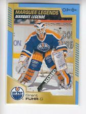 20/21 OPC Edmonton Oilers Grant Fuhr Marquee Legends Blue Border card #541