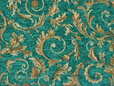 Saxon 4678 Scroll Marina 100% Polyester Fabric