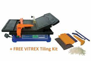 Vitrex 103402NDE Torque Master Power Tile Cutter +FREE Vitrex 6 Piece Tiling Kit