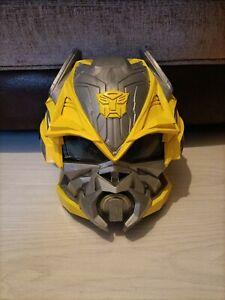 Transformers Bumblebee Battle Mask Helmet Licensed Fancy Dress