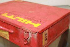 Hilti Dx100L Piston Drive H25 Caliber Single Shot Powder Actuated Drive Tool Kit