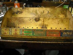 original Beech nut gum steel display case