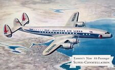 "Eastern Air Lines Super Constellation Airline issued ""Tried and Proven"""