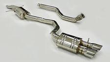 "OBX Exhaust 3"" Pipe Cat Back Fits 2010 11 12 13 2014 Audi A5 Quattro 2.0L"
