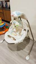 fisher price my little lamb cradle and swing baby rocker