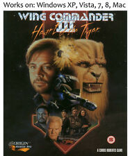 Wing Commander III 3 Heart of Tiger PC Mac Game