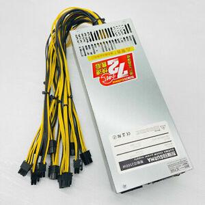 Modular Mining Power Supply 2500W PSU For 8 Graphics GPU BTC Rig Ethereum Miner