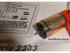 Verbeck 2109 Faulhaber-MOTORE 2233 u012sp74, 12 V, un estremità dell'albero