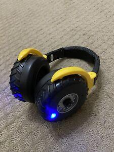 Monster Jam Mud Tire Kids Headphones Earmuffs Hearing Protection Monster Truck
