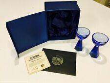 Roddenberry Saurian Brandy Glass Set Star Trek TOS