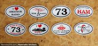 HAM Radio Amateur Stickers