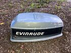 OMC Evinrude Johnson Outboard 50 VRO Engine Cowl Motor Cover Hood GOOD LATCHES!