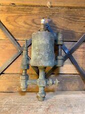 Old Brass Steam Engine Oiler Lubrication American Lubr Company Detroit Vintage