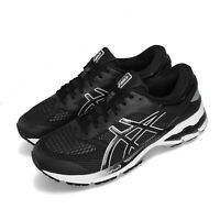 Asics Gel-Kayano 26 Black White Men Running Training Shoes Sneakers 1011A541-001