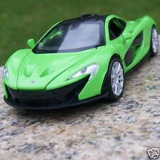 McLaren P1 Sound & Light 1:32 Alloy Diecast Model Cars Toys Casr Gifts Green New