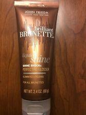 ONE John Frieda Brilliant Brunette Liquid Shine Shock Perfecting Glosser 2.4oz