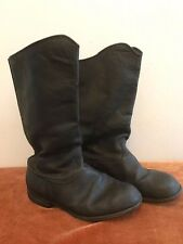 WW2 German Leather Panzer Officers Jackboots.Marching boots. Orig.