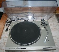 Technics Direct Drive Automatic Turntable System  SL-D202-Working