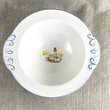 Vintage Serving Bowl  Art Deco 1930s Hand Painted Royal Staffordshire