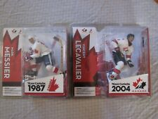 McFarlane SportsPicks Team Canada  Mark Messier and Vincent LaCavalier Lot of 2