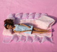Doll Accessories Furniture quilt+pillow(Bed four sets)for Barbie doll