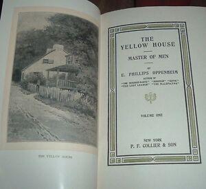 3 Vol Set 6 Stories 1912 E PHILLIPS OPPENHEIM Great Awakening/To Win Love Sought
