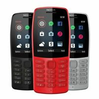 NEW 2019 Year Nokia 210 Dual SIM Unlocked 1020mAh Mobile Up To 576 Hours LATEST