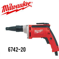 Milwaukee 6742-20 Drywall Screwdriver 0-4000 RPM NEW!